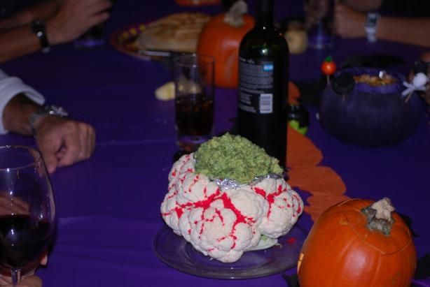 Halloween Brain Dip from Food.com: So spooky and delicious. A fun way ...