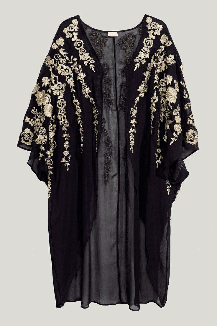 H&M Chiffon Kimono | jacket | Pinterest