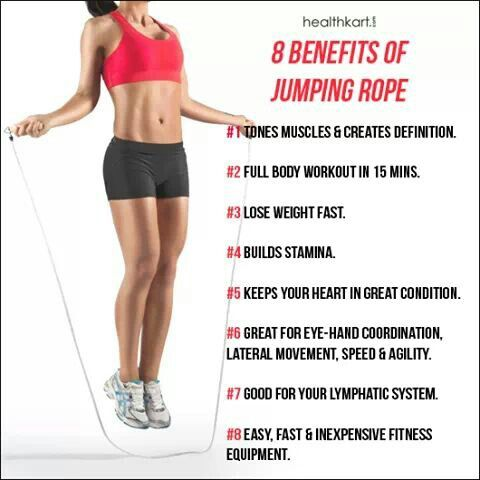 Benefits From Jumping Rope