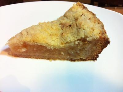 Apple Streusel Tart with Honey Crust https://www.rakisheats.com/