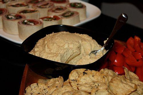 Lemon Garlic Hummus | I'm going to eat you! | Pinterest