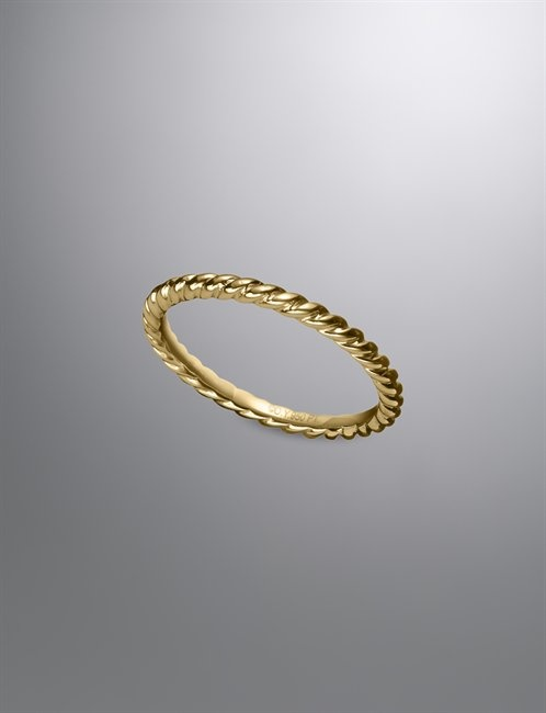 2MM CABLE WEDDING BAND RING