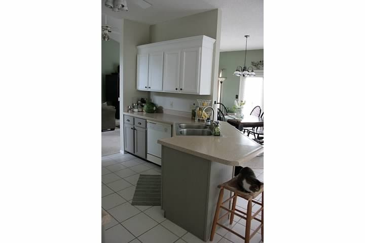 2 Different Color Cabinets Kitchens Pinterest