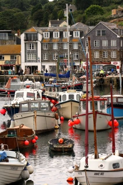 Mevagissey harbour, Cornwall | England (by dipsybee)