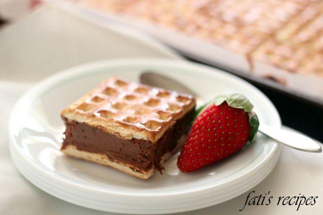 chocolate mousse squares | recetas | Pinterest