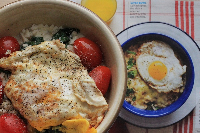... egg, sunny-side up. *Each recipe is based on 1/2 cup dry rolled oats