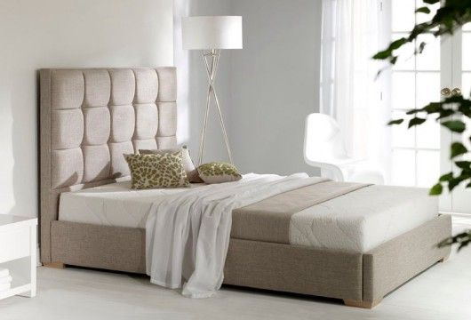 Sumptuous Upholstered Headboards Style : Milo Upholstered Bed Frame £ ...