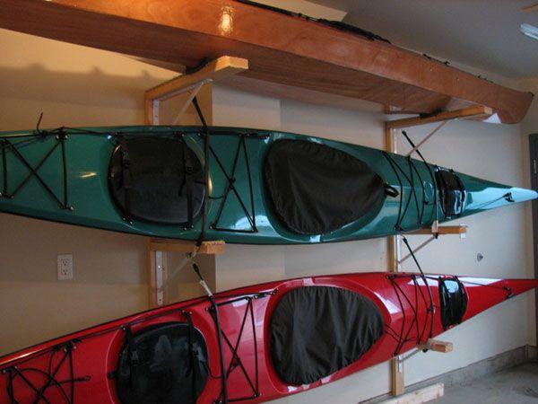 Kayak Storage Idea The Great Outdoors Pinterest