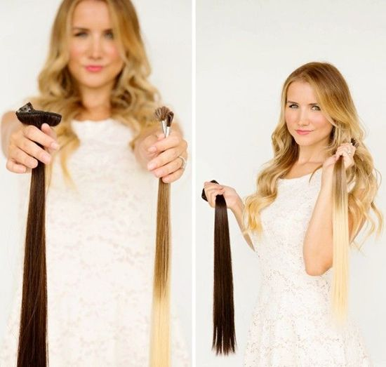 hairstyles with dreads : Clip in Extensions Hair Extensions Pinterest