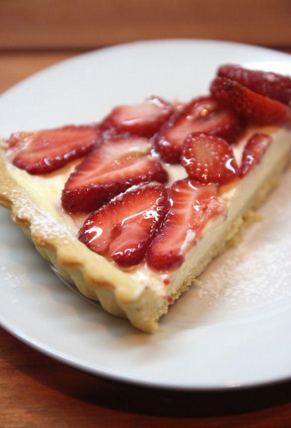 Strawberry & Lemon Mascarpone Tart | Pie in the Sky | Pinterest