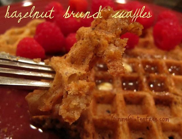 Hazelnut Brunch Waffles | Food | Pinterest