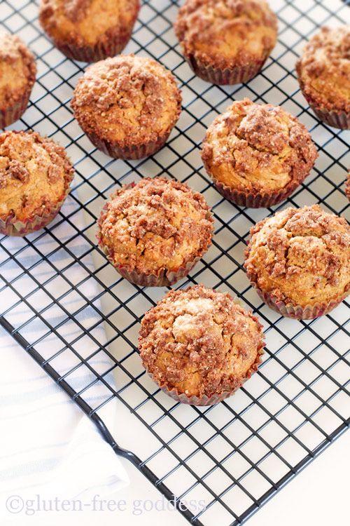 Gluten-Free Pumpkin Streusel Muffins | gluten free, paleo and low car ...