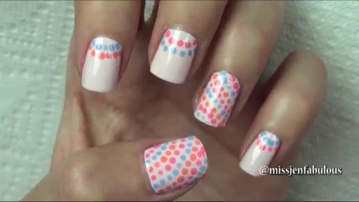 Simple dotting nail design from Missjenfabulous HD Wallpaper