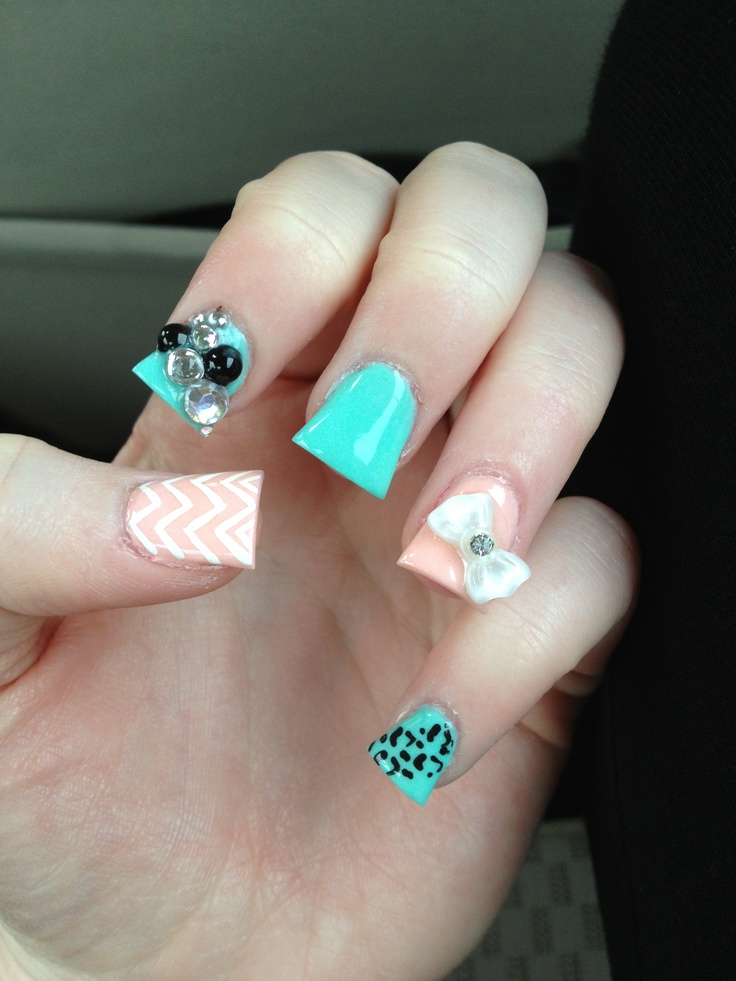 Sometimes Also Referred To As Fan Nails Or Wide These