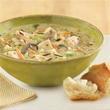 Creamy Chicken and Wild Rice Chowder | Recipe