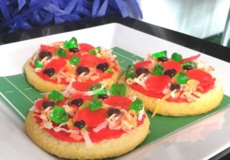 "Sugar Cookie ""Pizzas"" | Yum! | Pinterest"