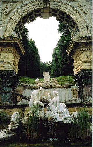 schonbrunn palace interior/images | vienna #wien #austria #schonbrunn palace #palace #ruins #sculpture # ...