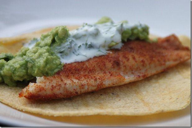 Tilapia Fish Tacos | NOMS TO MAKE | Pinterest