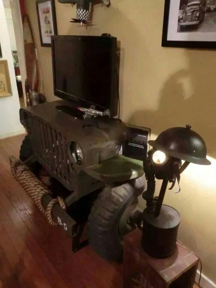 Ford Man Cave Decor : Jeep tv furniture and decor pinterest
