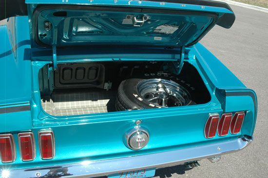 1969 Ford Mustang Trunk Interior Automobile References
