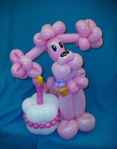 Poodle balloon party pinterest