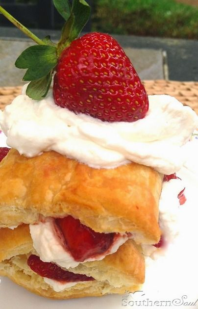 Strawberry Napoleons | Sweets: Donuts, Eclairs, Beignets, and Cream P ...