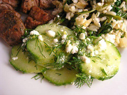 Cucumber and Feta Salad WF