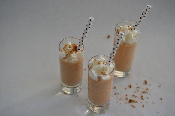 Pumpkin Cheesecake Milkshake   Drinks   Pinterest