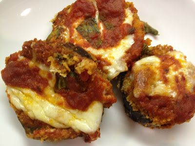 Light Eggplant Parmesan from my cousin Jamie's blog... Hip Tips from ...