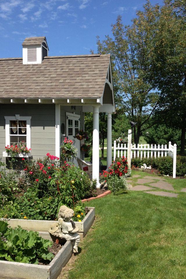 Potting Shed Cottage Garden Ideas Pinterest