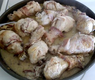Sour Cream and Bacon Chicken Drumsticks | Food and Drink | Pinterest