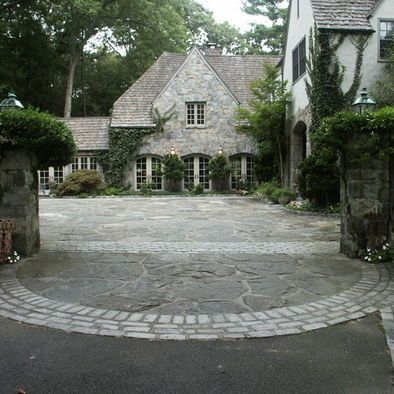 courtyard driveway exterior motor court driveways