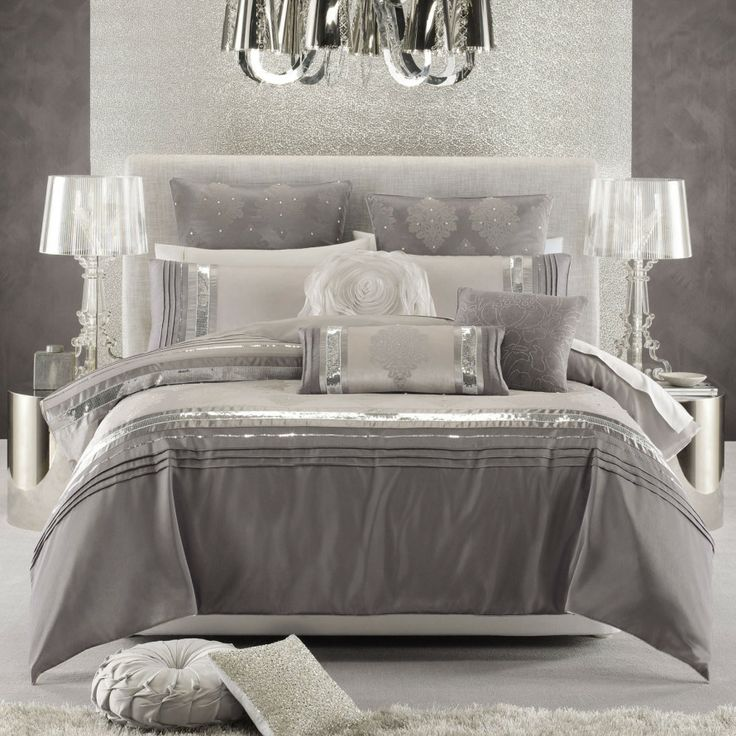 The Other Option of Luxurious Glam Bedding ... | Interior Design Love…