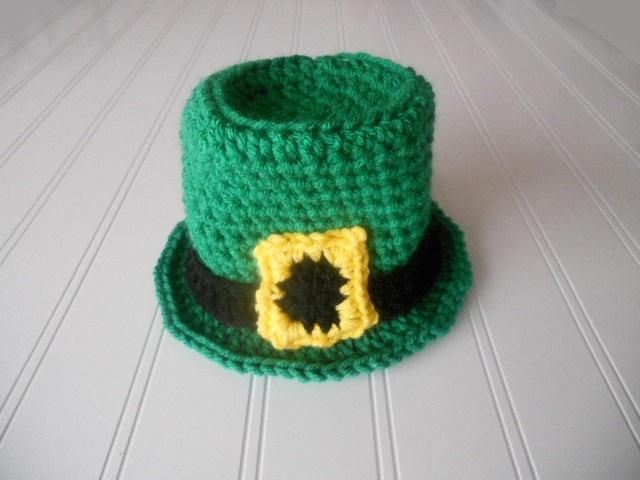 Crochet Baby Leprechaun Hat Pattern : Pin by KC Hayes on Crochet Pinterest