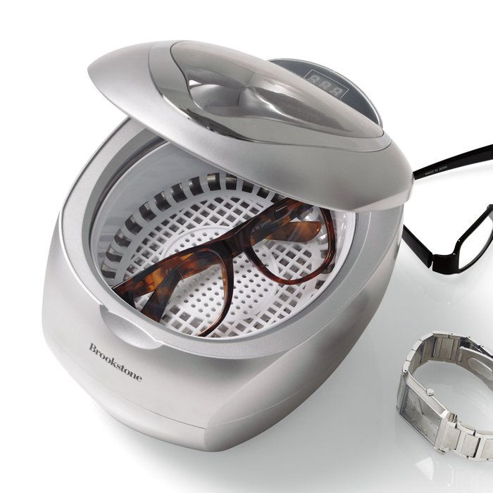 Keep your watches and glasses smudge-free. The Ultrasonic Jewelry Cleaner and DVD Cleaner. Just add water. $49.99