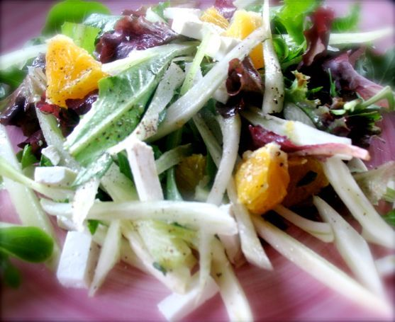 Fennel and Orange Salad | All Citrusy | Pinterest