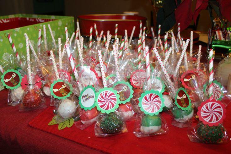 Christmas Cake Pop Ideas Pinterest : christmas cake pops Cakes Pinterest