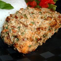 Alaska Salmon Bake with Pecan Crunch Coating Allrecipes.com