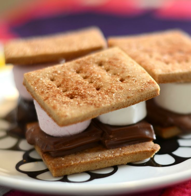 with Gluten Free Graham Crackers - better than any store bought graham ...