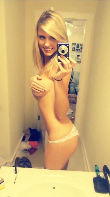 Teen hand bra selfies young