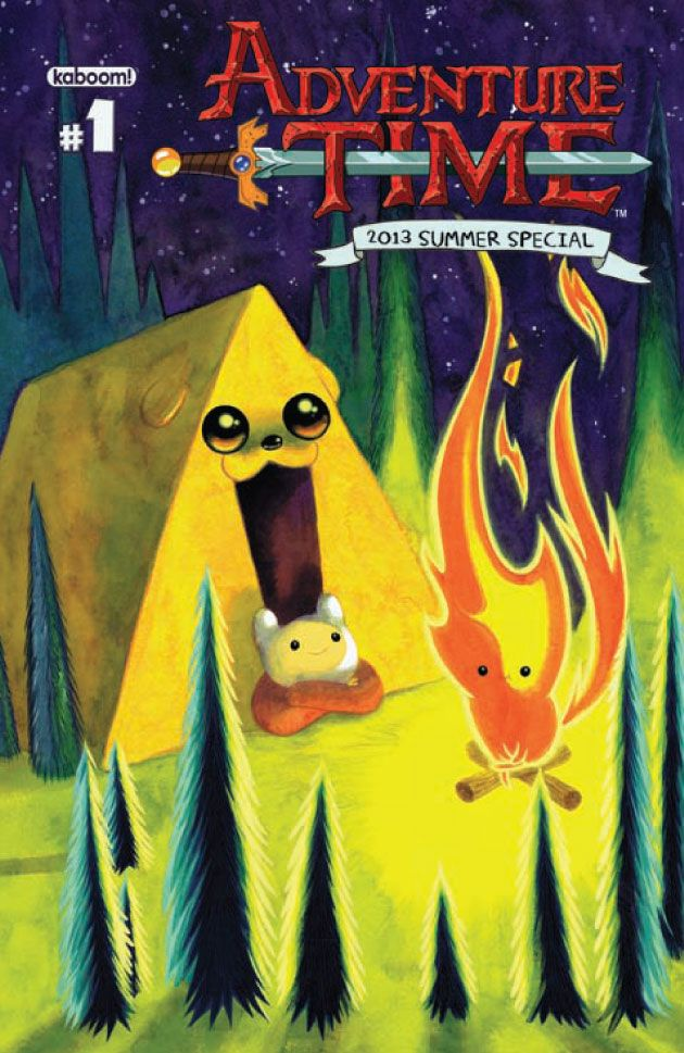 Savor The Sunny Season With 'Adventure Time: Summer Special 2013′ #1