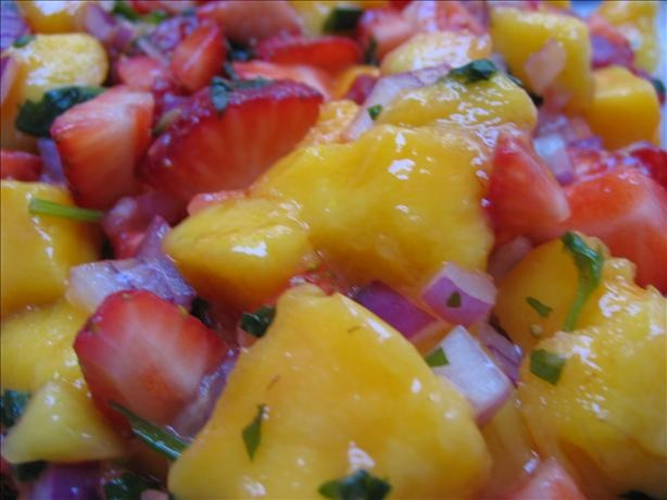 Calypso Strawberry-Mango Salsa | Recipe