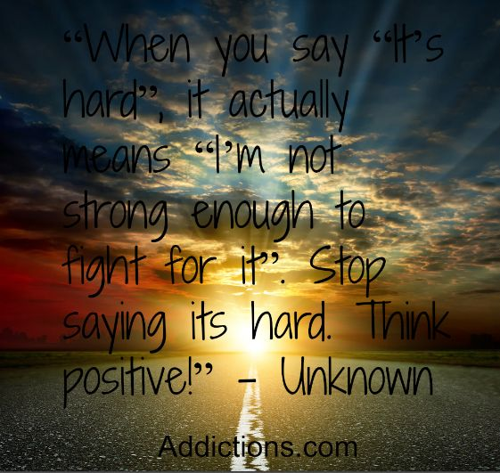positive recovery addiction quotes quotesgram