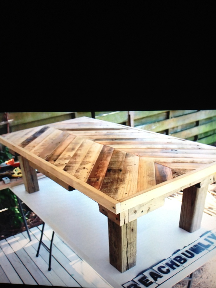 Pinterest for Tables made out of pallets