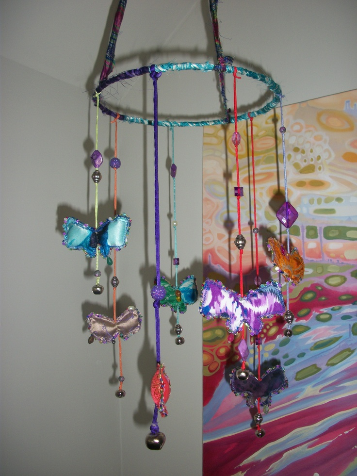 homemade mobile for my baby niece craft ideas pinterest