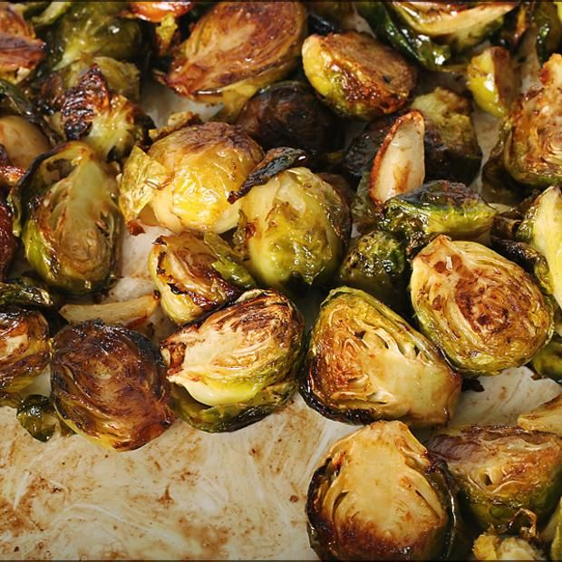 Balsamic Roasted Brussels Sprouts | Recipes: because it's all about t ...