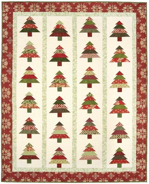 Tree Lot Pattern from Keepsake Quilting. Quilt Ideas Pinterest