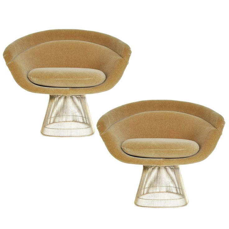 warren platner lounge chair chairs pinterest