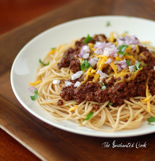 Beer Chili Spaghetti