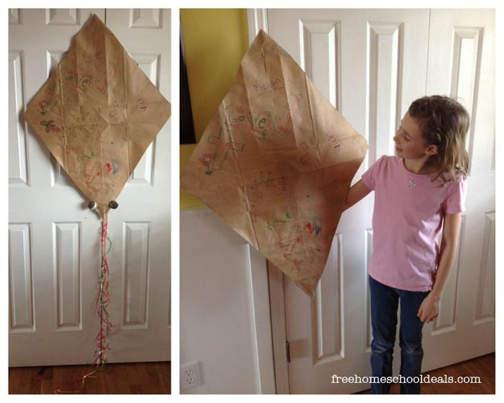 For many years my dad would make a kite with me in the spring. Precious memories!